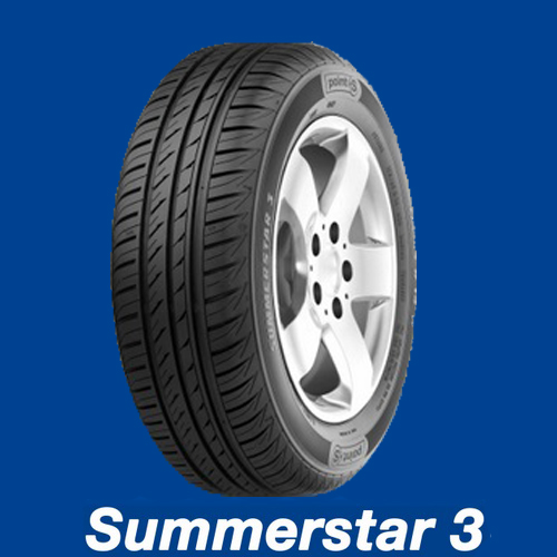 Point S Summerstar 3  79 T  (437 kg 190 km/h)  155/80R13