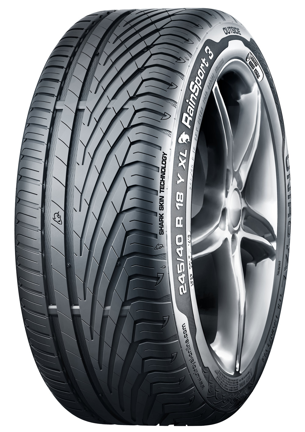 Uniroyal RainSport 3  94 Y XL FR  (670 kg 300 km/h)  255/35R18