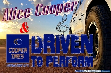 A Cooper Tire & Alice Cooper  - Driven to Perform